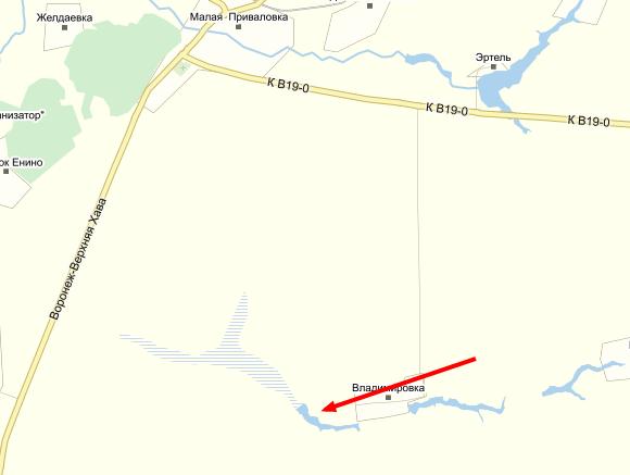 http://minnow.ru/maps/Zakorjazhennyj-prud.png